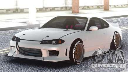 Nissan Silvia S15 Очередной Киберпанк для GTA San Andreas