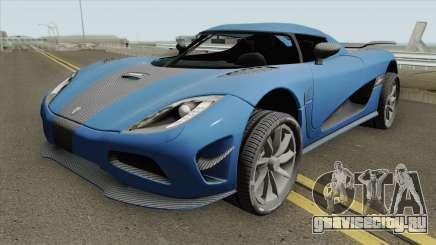 Koenigsegg Agera R 2011 HQ для GTA San Andreas