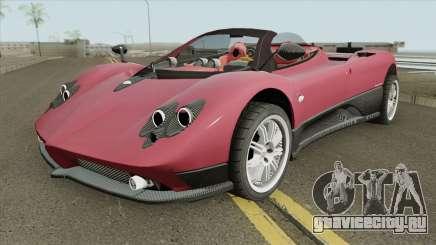 Pagani Zonda F IVF для GTA San Andreas