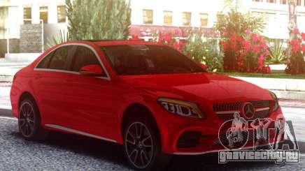 Mercedes-Benz C300 2019 Red для GTA San Andreas