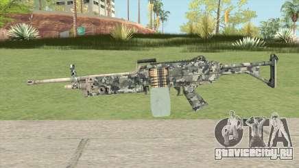 FN Minimi (Pixelated) для GTA San Andreas