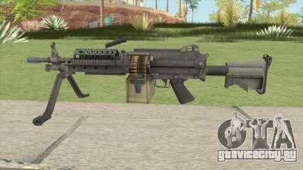 Battlefield 4 M249 для GTA San Andreas