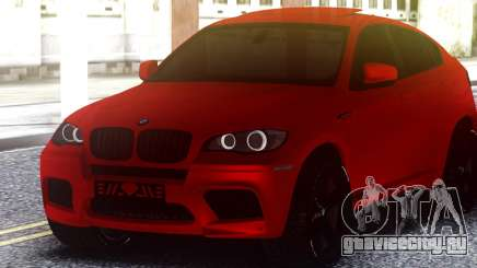 BMW X6 M Sports Activity Coupe для GTA San Andreas