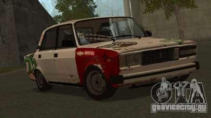 ВАЗ 2105 Боевая 25 для GTA San Andreas