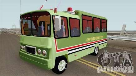 Buseta Clasica (V2) Colombiana для GTA San Andreas