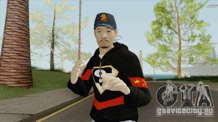 Chinese Gang Skin V2 для GTA San Andreas