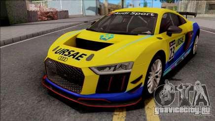 Audi R8 LMS GT4 2019 для GTA San Andreas