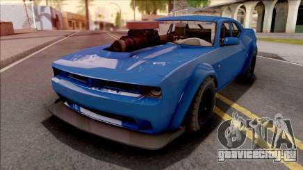 GTA V Bravado Gauntlet Hellfire Custom IVF для GTA San Andreas