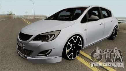 Opel Astra J HQ для GTA San Andreas