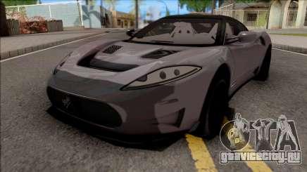 Spyker C8 Preliator 2017 для GTA San Andreas