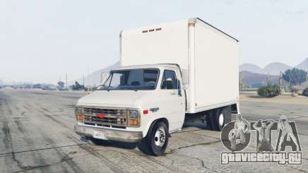 Chevrolet G30 Box Truck для GTA 5
