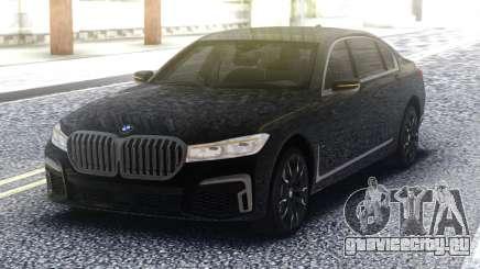 2020 BMW 7 series 740i для GTA San Andreas