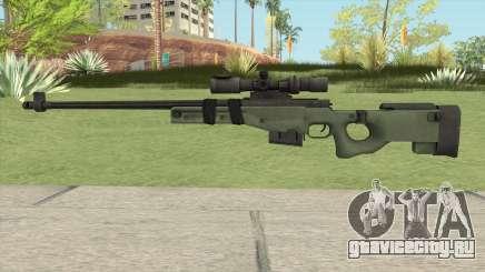 Battlefield 3 L96 Sniper для GTA San Andreas