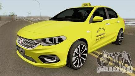 Fiat Egea Taxi для GTA San Andreas