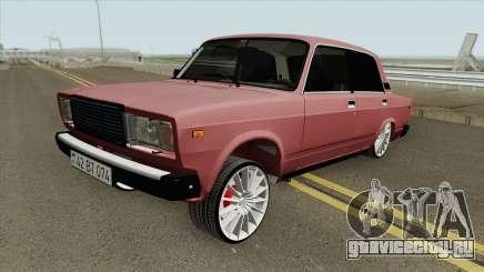 ВАЗ 2107 Azerbaijan для GTA San Andreas