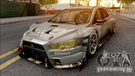 Mitsubishi Lancer Evolution X Final Edition 2015 для GTA San Andreas