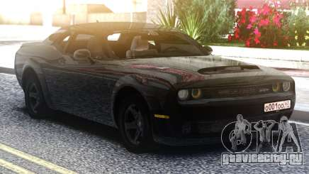 Dodge Challenger SRT Demon для GTA San Andreas