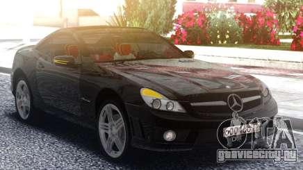 Mercedes-Benz SL65 AMG Black Original для GTA San Andreas