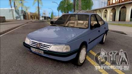 Peugeot 405 GLX Blue для GTA San Andreas