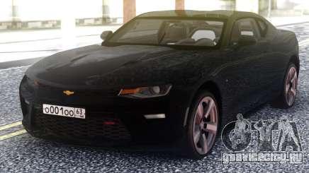 Chevrolet Camaro Black Coupe для GTA San Andreas