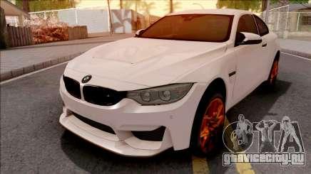 BMW M4 GTS White для GTA San Andreas
