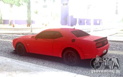 Dodge SRT Demon 2020 TURBO KE32 для GTA San Andreas