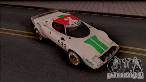 Lancia Stratos Transformers G1 Wheeljack для GTA San Andreas