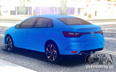 Renault Megane 4 для GTA San Andreas