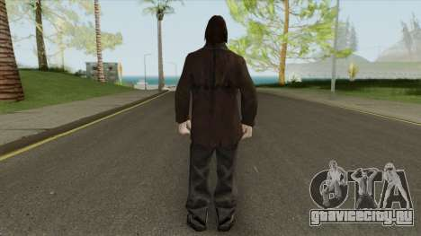 Urban Male Criminal (Dark Brown Leather Jacket) для GTA San Andreas