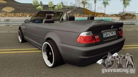 BMW M3 E46 Cabrio для GTA San Andreas