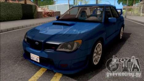 Subaru Impreza WRX STi для GTA San Andreas