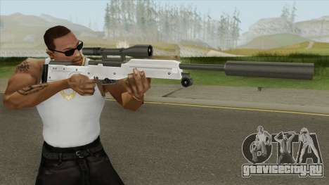 Winter Covert Sniper Rifle (007 Nightfire) для GTA San Andreas