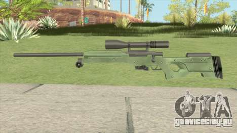 Winter Tactical Sniper Rifle (007 Nightfire) для GTA San Andreas