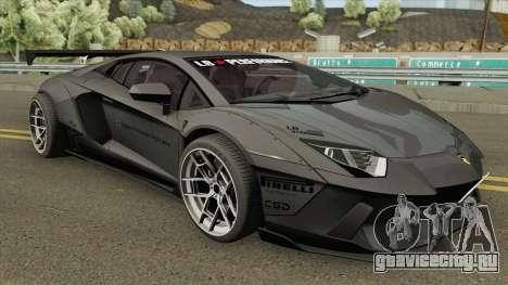 Lamborghini Aventador LP700-4 Liberty Walk 2012 для GTA San Andreas