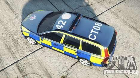 Volvo V70 Essex Police