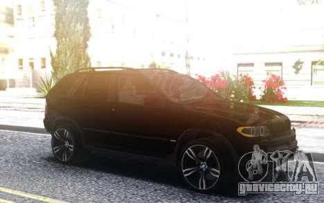 BMW X5 4 8is для GTA San Andreas