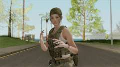 Claire Redfield Military (RE2 Remake) для GTA San Andreas