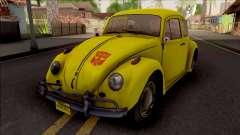 Volkswagen Beetle Transformers G1 Bumblebee для GTA San Andreas