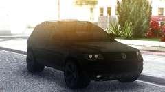 Volkswagen Touareg Black для GTA San Andreas