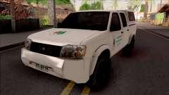 Nissan Frontier Srednjobosanske Sume для GTA San Andreas