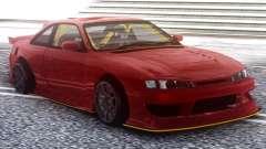 Nissan Silvia S14 Kouki Red для GTA San Andreas