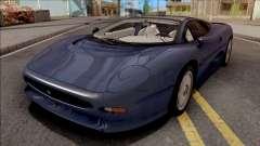 Jaguar XJ220 1992 для GTA San Andreas