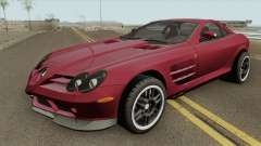 Mercedes-Benz SLR Mclaren 722 2006 для GTA San Andreas