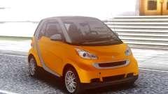 Smart ForTwo Orange для GTA San Andreas