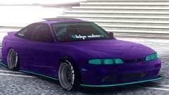 Nissan 180SX S14 Zenki для GTA San Andreas