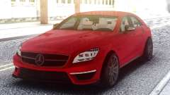 Mercedes-Benz CLS 63 AMG Red для GTA San Andreas