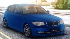 BMW 120i Blue для GTA San Andreas