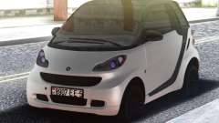 Smart ForTwo White для GTA San Andreas
