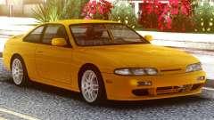Nissan Silvia S14 Zenki Yellow для GTA San Andreas