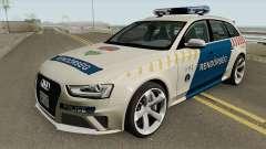 Audi RS4 Avant Magyar Rendorseg для GTA San Andreas